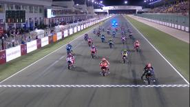 Relive the premier class race at the #QatarGP in full.