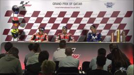 We hear from the top three finishers in the MotoGP™ race after another exciting Grand Prix