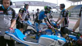 Watch the Moto3? Warm Up session ahead of their race on Sunday for the #QatarGP