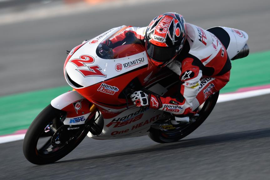 Kaito Toba, Honda Team Asia, Grand Prix of Qatar