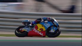 Álex Márquez a été victime d'un problème de freins, alors qu'il se battait pour la deuxième place du #QatarGP.