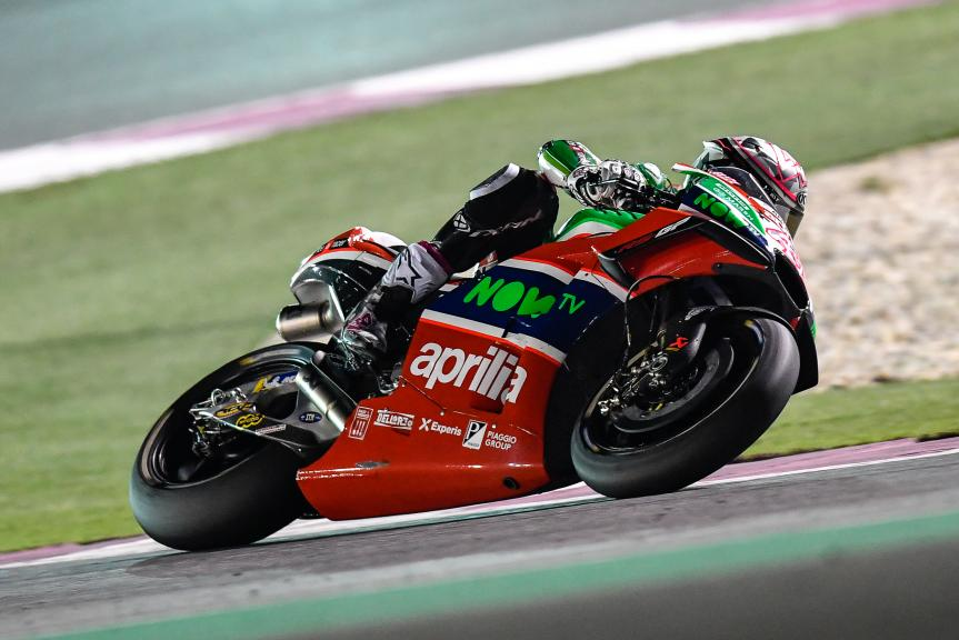 Aleix Espargaro, Aprilia Racing Team Gresini, Grand Prix of Qatar