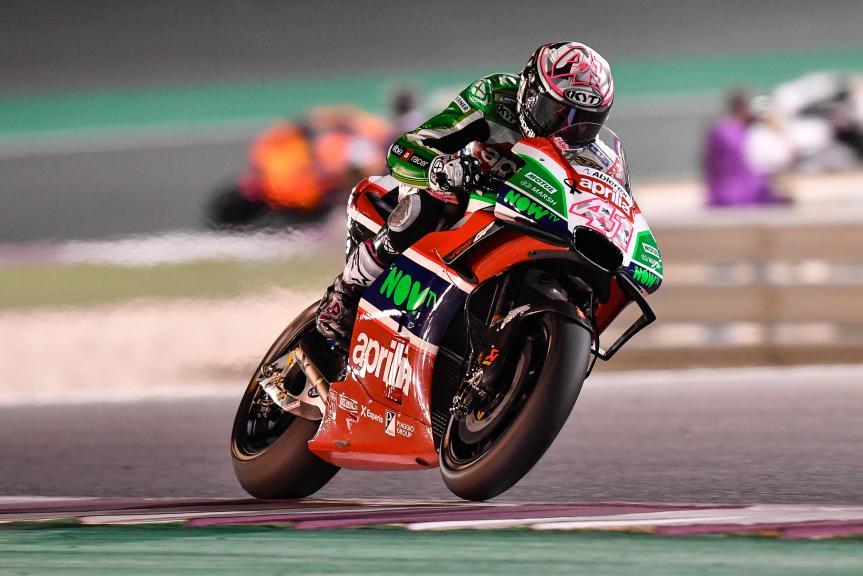 Aleix Espargaro, Aprilia Racing Team Gresini, Grand Prix of Qatar