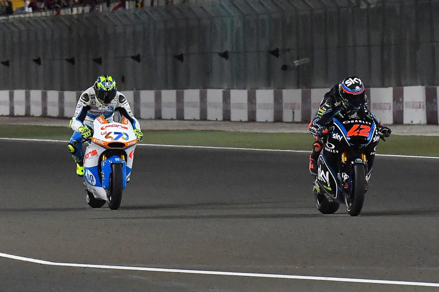 Francesco Bagnaia, Sky Racing Team VR46, Lorenzo Baldassari, Pons Hp40, Grand Prix of Qatar