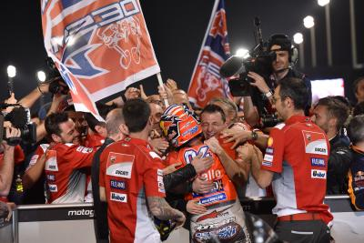 Chasing Champions: Dovi on Stoner's tail as a Ducati winner
