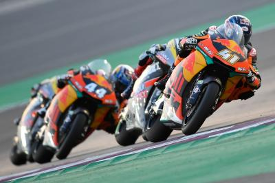 "Binder on KTM: ""The conditions weren't perfect for our bike"""