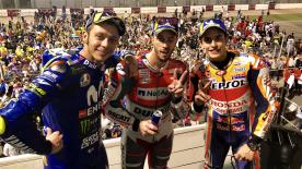 A recap of some of the more light-hearted moments from the #QatarGP at the Losail International Circuit
