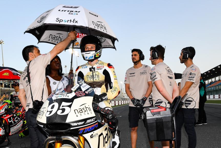 Jules Danilo, Nashi Argan SAG Team, Grand Prix of Qatar