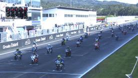 ポルトガルのエストリル・サーキットで開催されたヨーロピアン・タレント・カップ決勝レース1のハイライトビデオ。