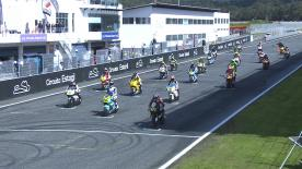 ポルトガルのエストリル・サーキットで開催されたMoto2™クラス決勝レース1のハイライトビデオ。