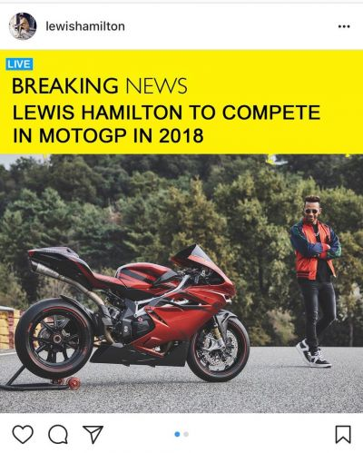 We've been dropping hints for a while now....  Welcome aboard, @LewisHamilton! See you in Argentina