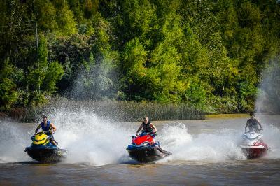 Il MotoGP™ vola sull'acqua prima del GP d'Argentina
