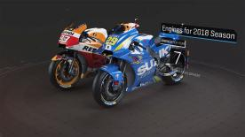 Tyres, fuel allowance, engines and fairings. MotoGP™'s regulations for the 2018 season are explained in this 3D video