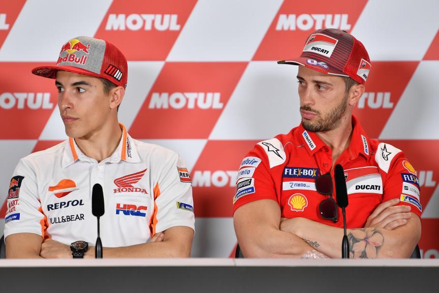 Marc Marquez, Andrea Dovizioso, Gran Premio Motul de la República Argentina