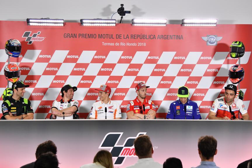 Press-Conference, Gran Premio Motul de la República Argentinas