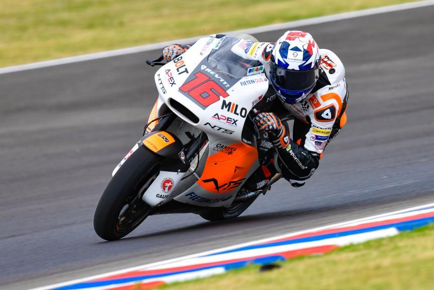 Joe Roberts, NTS RW Racing GP, Gran Premio Motul de la República Argentina