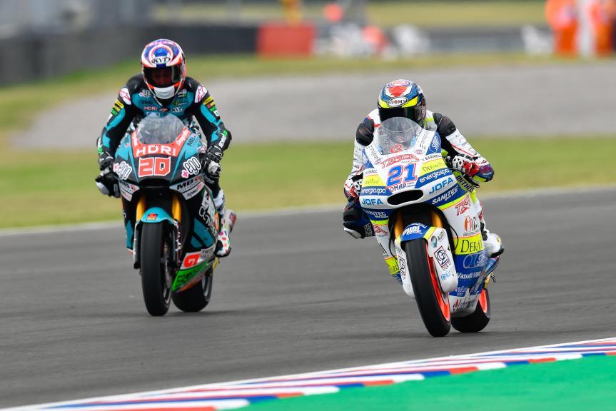 Federico Fuligni, Tasca Racing Scuderia Moto2, Fabio Quartararo, Speed Up Racing, Gran Premio Motul de la República Argentina