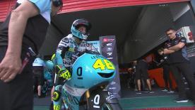 Revivez la première séance d'essais libres de la catégorie Moto3™ à Termas de Río Hondo.