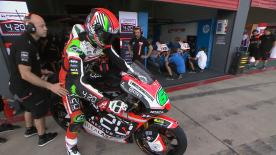 Revivez la première séance d'essais libres de la catégorie Moto2™ à Termas de Río Hondo.