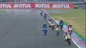 Revivez la deuxième séance d'essais libres de la catégorie Moto3™ à Termas de Río Hondo.