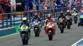 Das erste freie Training des Wochenendes in der MotoGP™-Klasse.