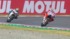 La deuxième séance d'essais libres de la catégorie MotoGP™ à Termas de Río Hondo a tenu toutes ses promesses