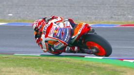 Marquez gibt vor Crutchlow und Pedrosa den Ton an, während Ducati ein Desaster erlebt