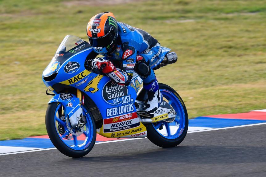 Aron Canet, Estrella Galicia 0,0, Gran Premio Motul de la República Argentina