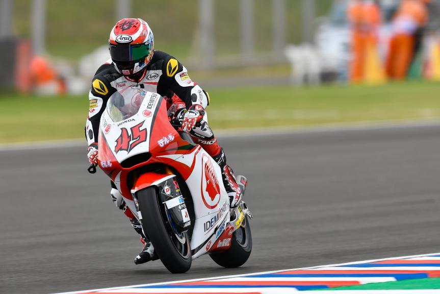 Tetsuta Nagashima, Idemitsu Honda Team Asia, Gran Premio Motul de la República Argentina