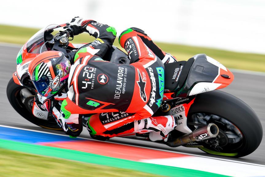 Stefano Manzi, Forward Racing Team, Gran Premio Motul de la República Argentina