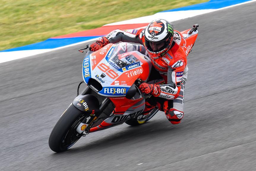 Jorge Lorenzo, Ducati Team, Gran Premio Motul de la República Argentina