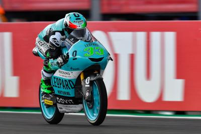 Bastianini blasts out the blocks fastest on Day 1