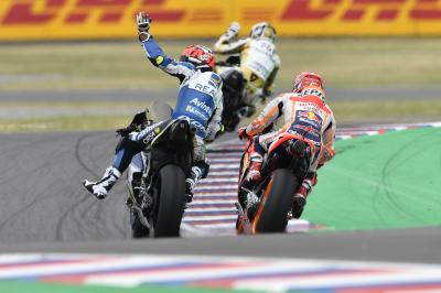 Rabat top Ducati after a tough day for Dovi and Lorenzo