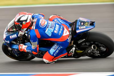 Pasini fastest in FP1