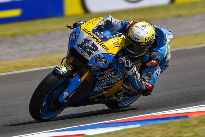 Thom Luthi, Eg 0,0 Marc VDS, Gran Premio Motul de la República Argentina