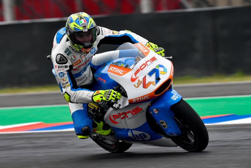 Lorenzo Baldassari, Pons HP40, Gran Premio Motul de la República Argentina
