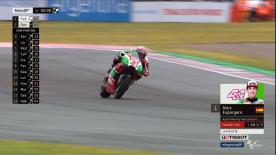 Lorenzo verpasst den Sprung in Q2, weil der Aprilia-Fahrer im letzten Sektor alles gibt