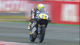 The battle for pole in Moto3? is on! Watch as the lightweight class battles it out for their grid positions