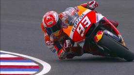 Revivez la troisième séance d'essais libres de la catégorie MotoGP™ à Termas de Río Hondo.