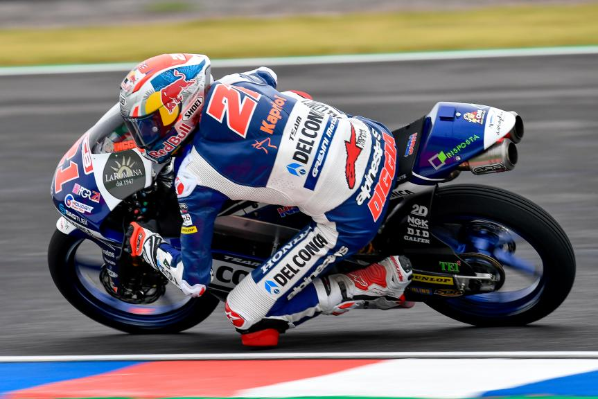 Fabio Di Giannantonio, Del Conca Gresini Moto3, Gran Premio Motul de la República Argentina