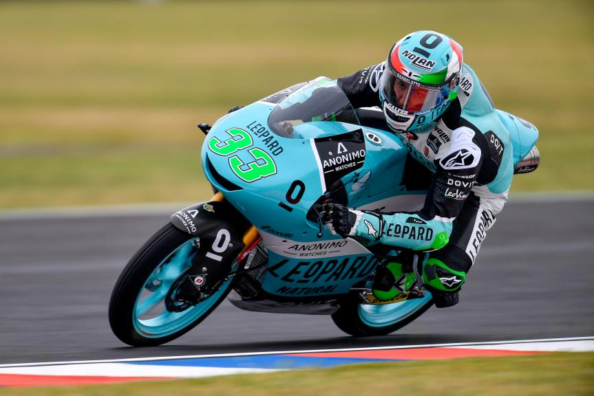 Enea Bastianini, Leopard Racing, Gran Premio Motul de la República Argentina