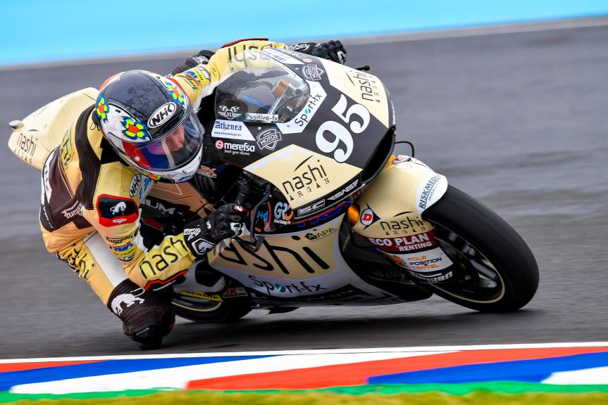 Jules Danilo, Nashi Argan SAG Team, Gran Premio Motul de la República Argentina