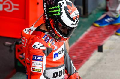 Lorenzo: tough grid position, top wet weather pace