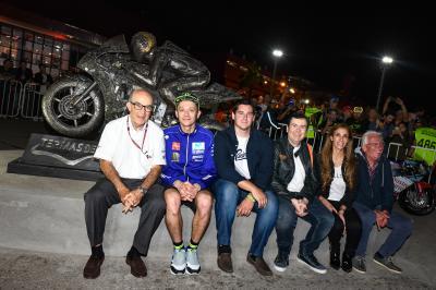 Valentino Rossi wird in Argentinien verewigt