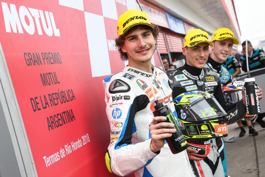 Xavi Vierge, Lorenzo Baldassari, Danny Kent, Gran Premio Motul de la República Argentina
