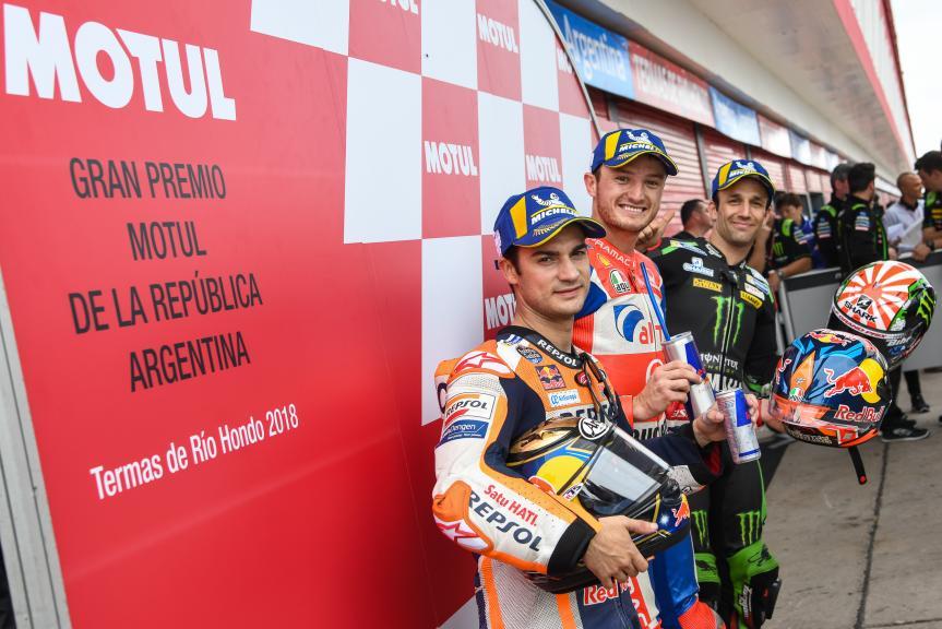 Jack Miller, Dani Pedrosa, Johann Zarco, Gran Premio Motul de la República Argentina