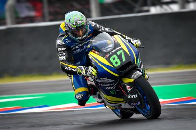 Gardner and Baldassarri shine through the weather in FP3