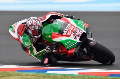 Aleix Espargaro and Dovizioso progress to Q2