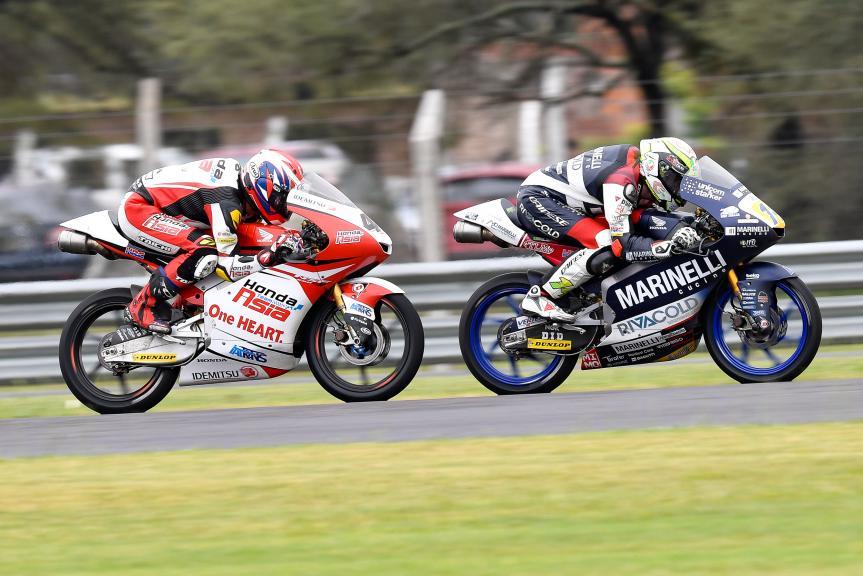Tony Arbolino, Marinelli Snipers Team, Nakarin Atiratphuvapat, Honda Team Asia, Gran Premio Motul de la República Argentina