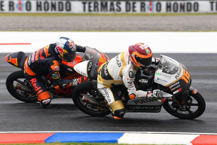 Andrea Migno, Angel Nieto Team Moto3, Darryn Binder, Red Bull KTM Ajo, Gran Premio Motul de la República Argentina